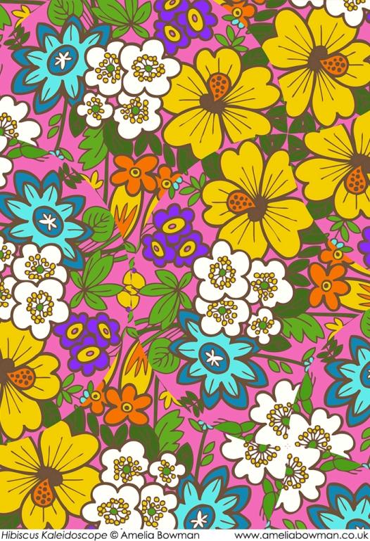 Hibiscus Kaleidoscope