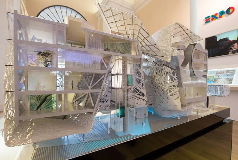 Palazzo Italia Model