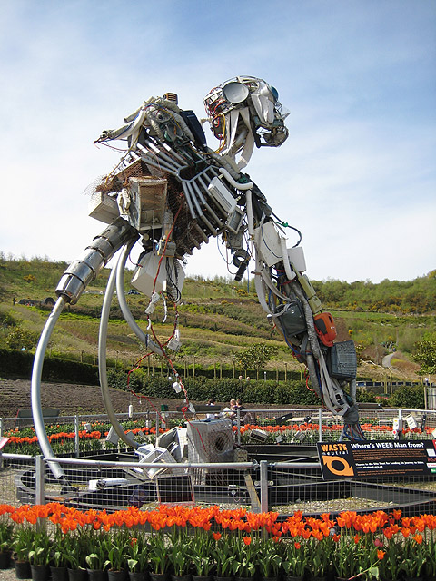 Wee Man at the Eden Project - from wikimedia