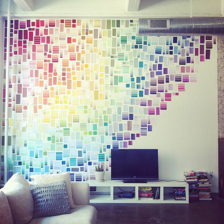 Colour Sample Wall
