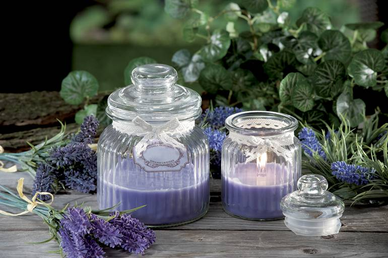 Lavendar candles