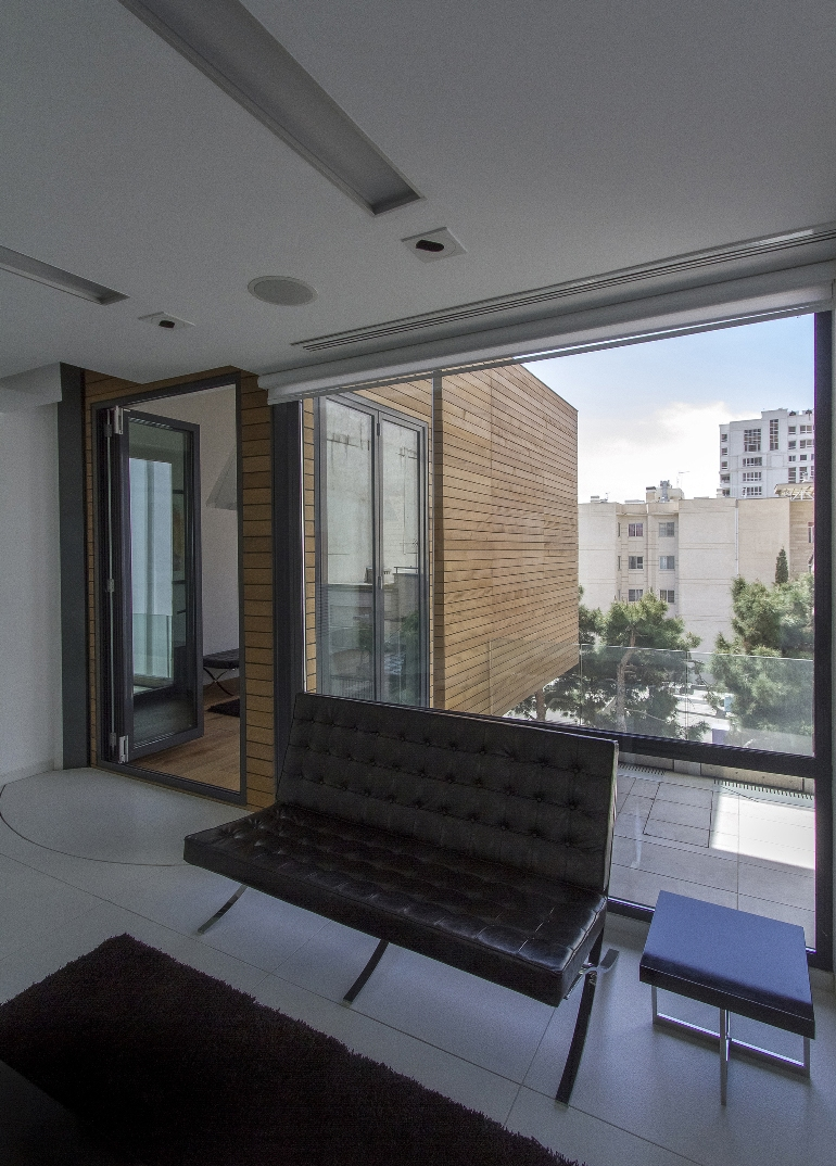 Looking out of the top floor of Sharifi ha House - NextOffice