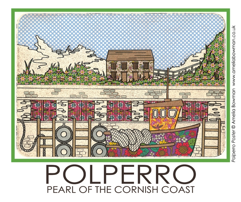Polperro Poster