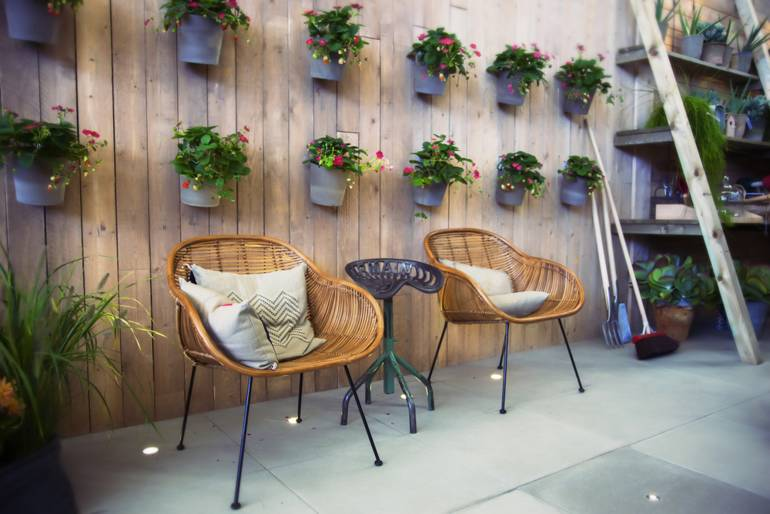 Veritcal Wall Planters