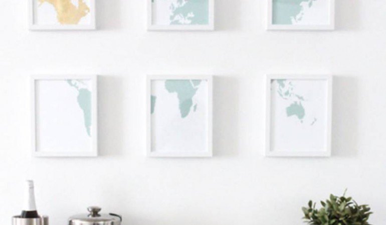 Big Art! 11 ways to fill a Wall without Spending too much