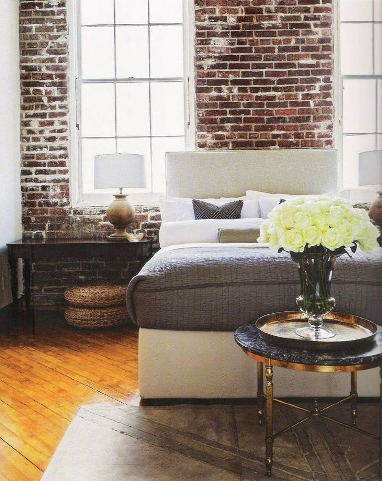 Bedroom Brick Walls