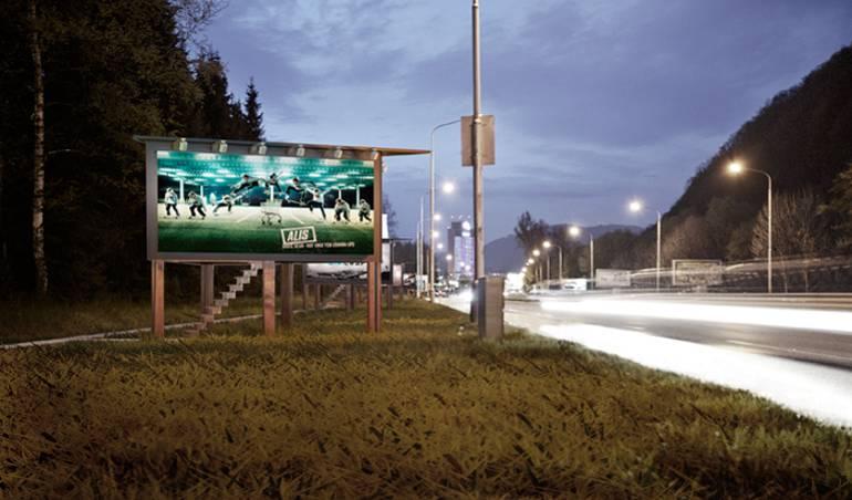 Billboard Home, Slovakia
