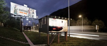 Billboard Apartments for the Homeless