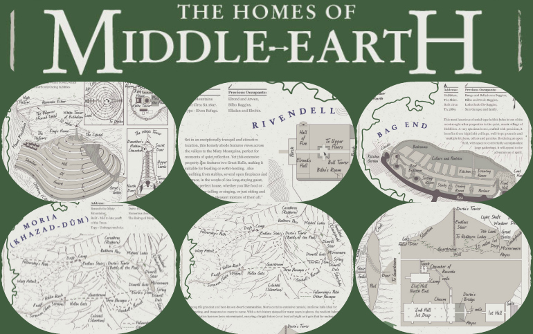 The Homes of Middle Earth