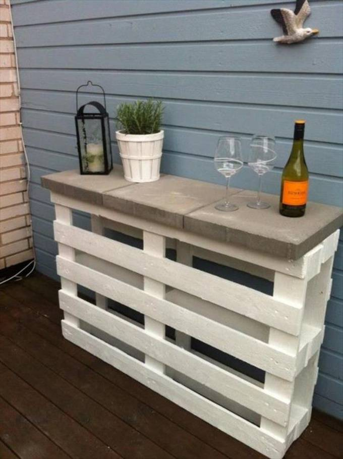 3. Outdoor Shelf Surface