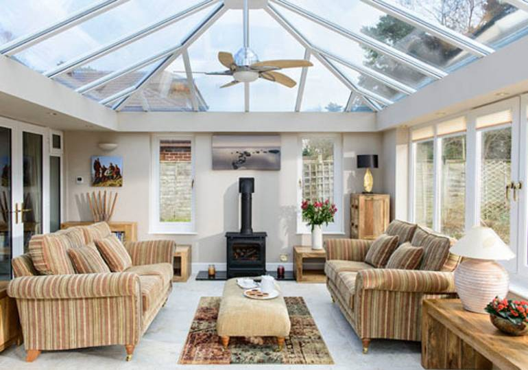 Best Way To Clean Inside Of Glass Conservatory Roof What S