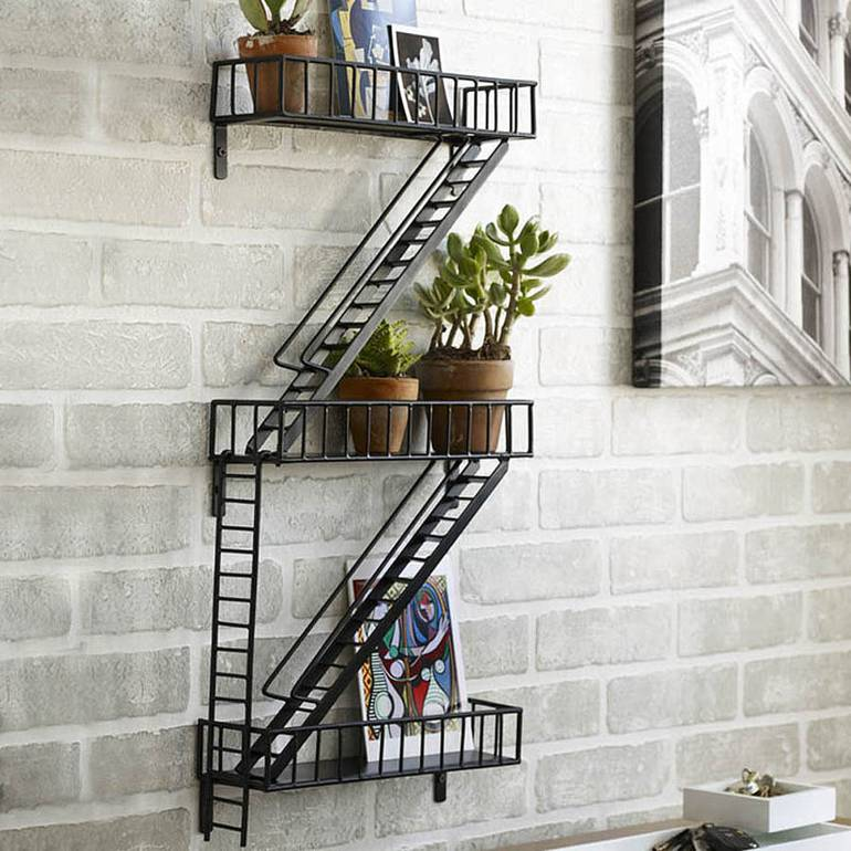 Fire Escape Shelving Unit - Made in Britain