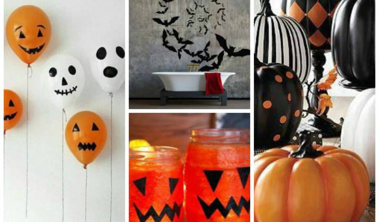 44 Halloween Decorations you can make for Under £5 each!