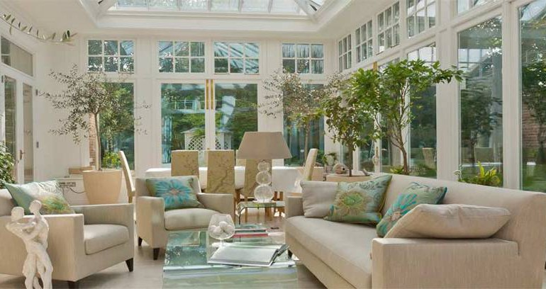 The best interior design themes for your conservatory for Interior decorating themes