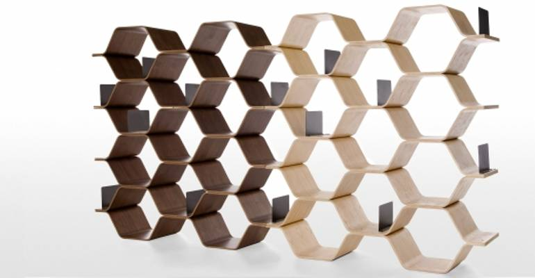 Polygon Shelving Unit - Made in Britain