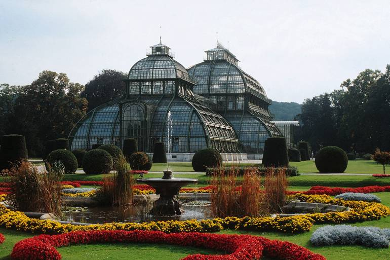 Schonbrunn Palace Palm House