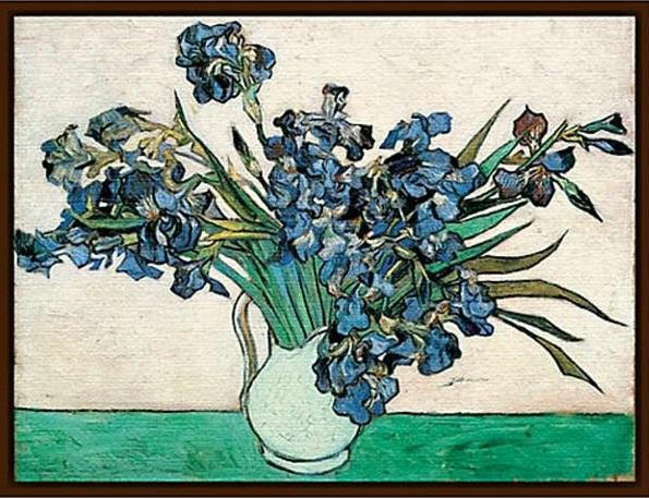 Vase of Irises