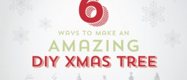 Ways to Make an Amazing DIY Christmas Tree [infographic]