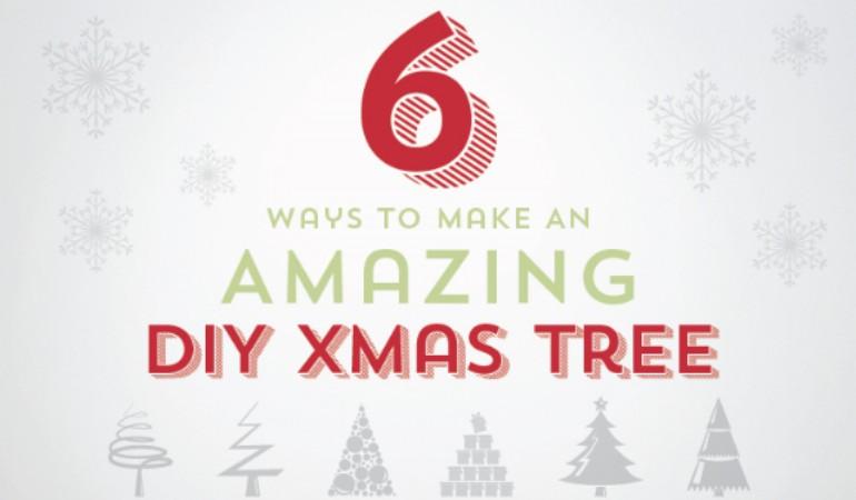 Ways to Make an Amazing DIY Christmas Tree [infographic]