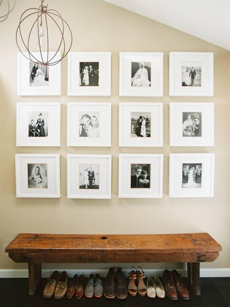 Hallway Photo Wall