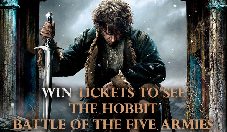 Facebook Giveaway to See The Hobbit: The Battle of the Five Armies