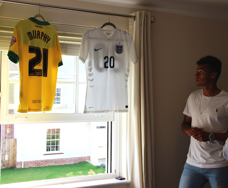Josh & his shirts