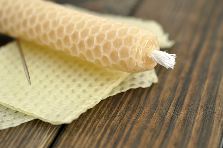 Beeswax candles are apparently good for those with allergies