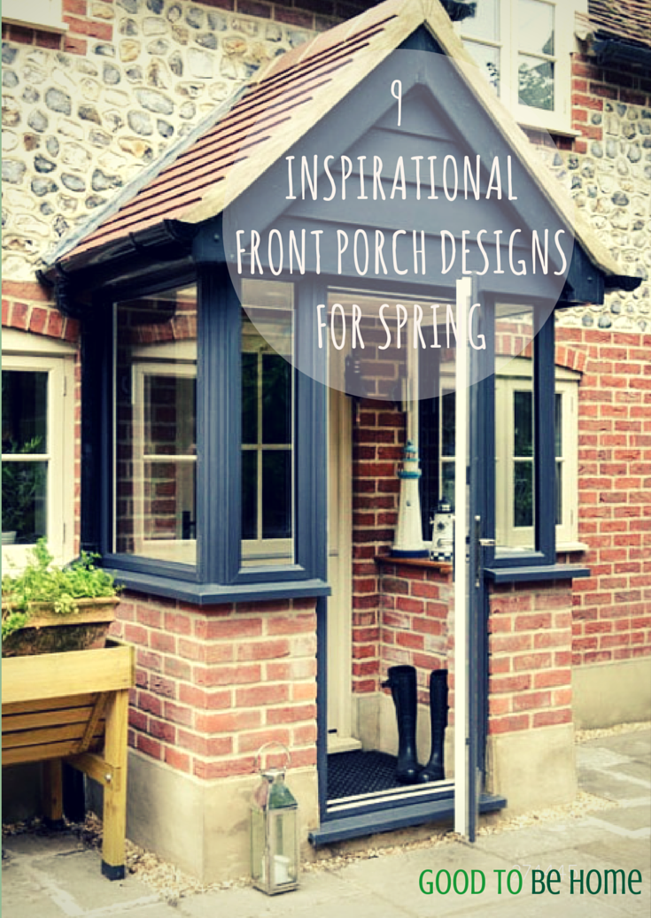 9 awesome spring design ideas for your front porch for Design front porch online