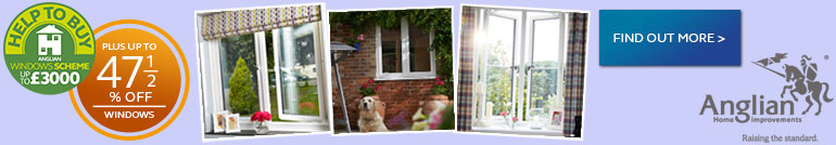 up to 47.5% off Anglian windows, click here to find out more