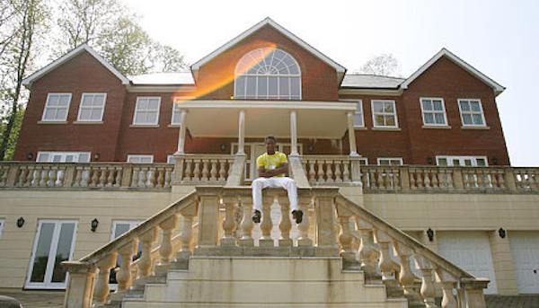 Chelsea footballer Obi Mikel's mansion.