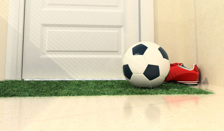 How to Make Your Kid's Bedroom Look Like a Footballer's Mansion