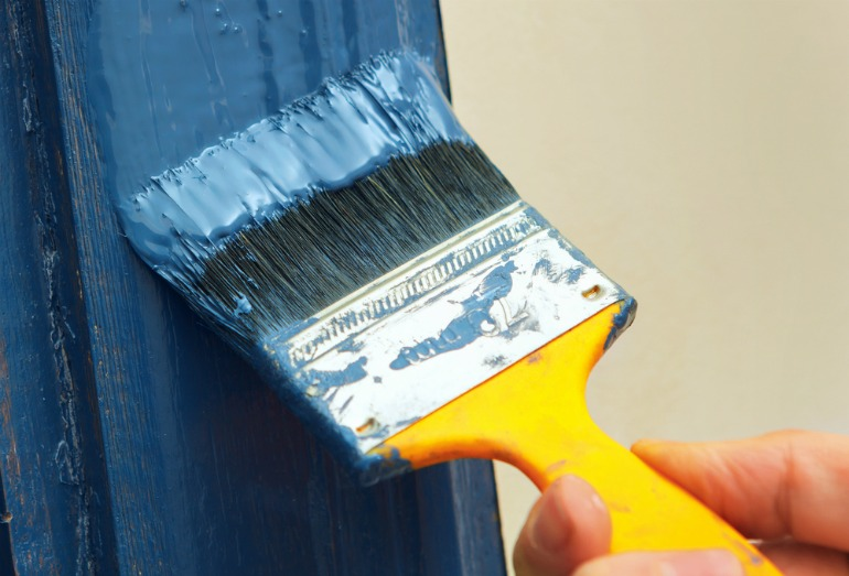 Try to use paints that are VOC and toxin free