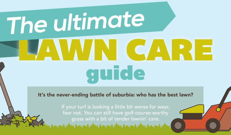 The Ultimate Lawn Care Guide [Infographic]