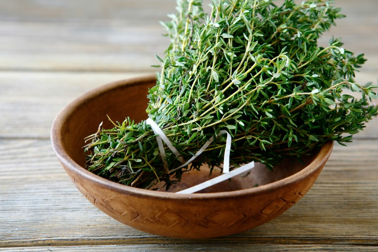 Thyme adds a professional touch to dishes - top chefs choose their favourite herbs to grow in the home
