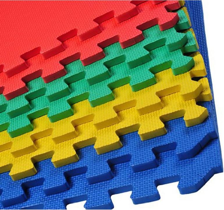 Foam Floor tiles & A Guide to Making Your Festival Tent More Homely