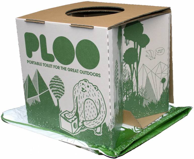 Ploo - the go anywhere toilet