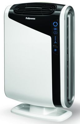 Fellowes DX55 air purifier helps to purify the air in your home