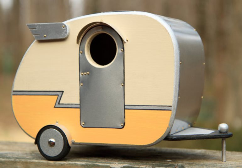 Campervan birdhouse