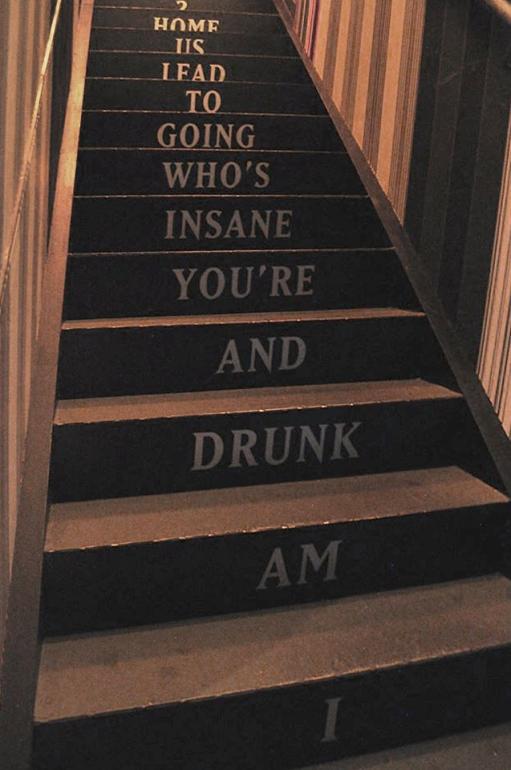 Drunk stairs