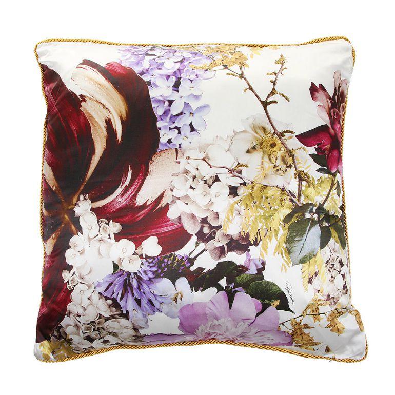 Designer cushion by Roberto Cavalli