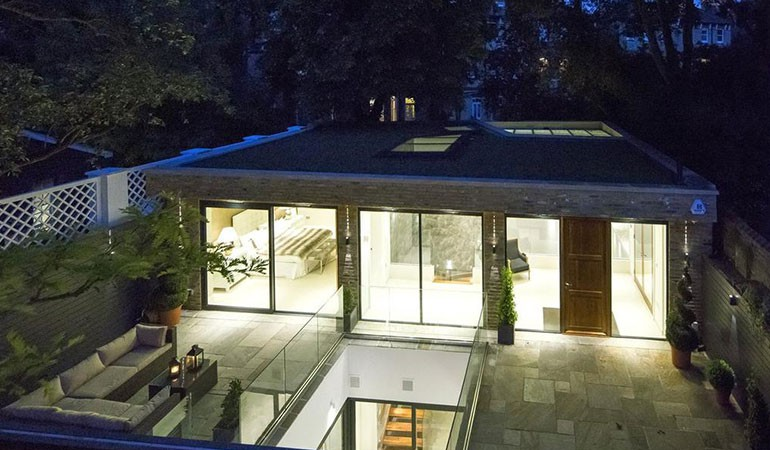 Incredible 'Invisible House' Built Underground in London