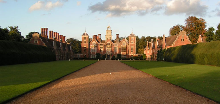 The beautiful Blickling Hall