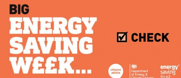 Big Energy Saving Week – Check