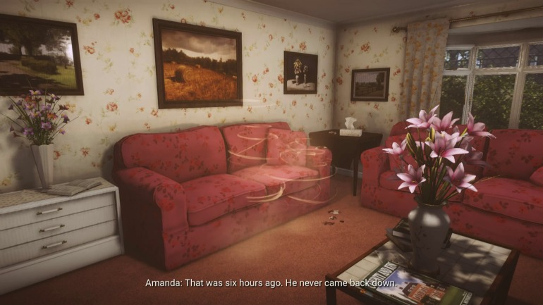 Interior design in Everybody's Gone to the Rapture