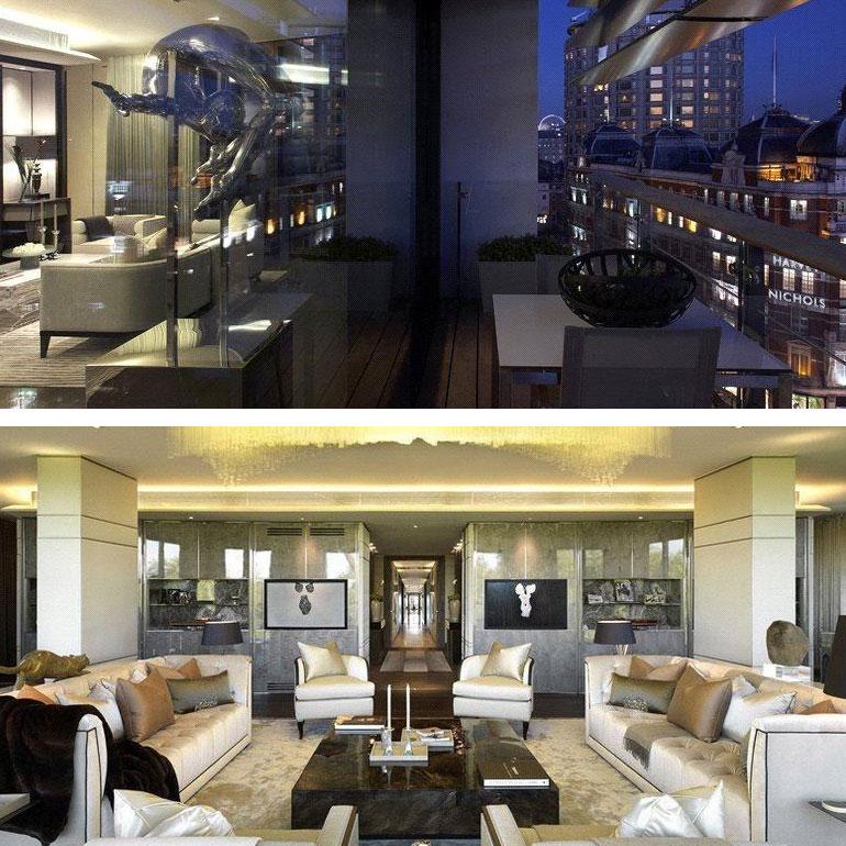 Knightsbridge £75 million super flat