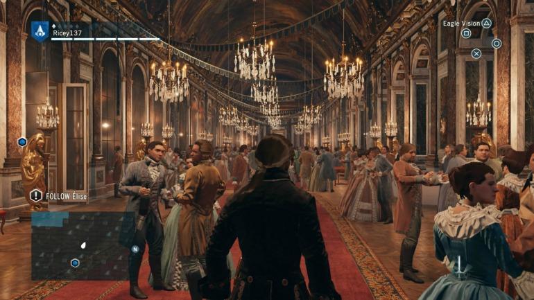 Interior design in Assassin's Creed Unity