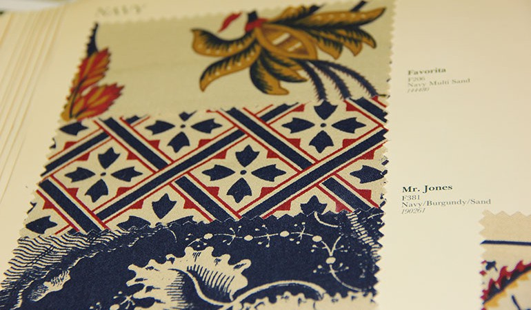 The History of Laura Ashley's Mr Jones Design