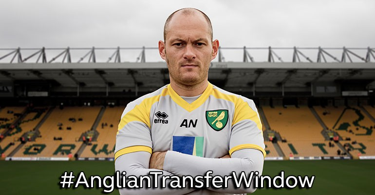 Win £100 Norwich City FC Vouchers in the Anglian Transfer Window
