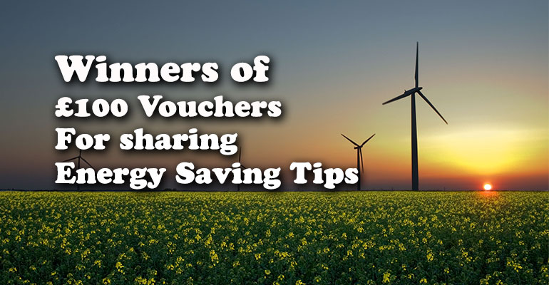 Energy Saving Tip Competition Winners | Good to be Home