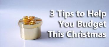 3 Christmas Budgeting Tips